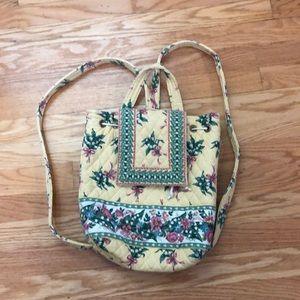 Vera Bradley cotton backpack